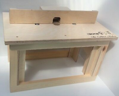 bench-top Router Table (Router not Included)