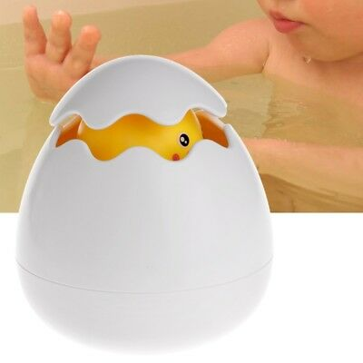 Baby Bath Toy Duck Broke Out Egg Water Spray Sprinkler Shower Swimming Kid Gift