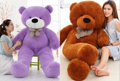 Large 60/80/100/120/140cm Teddy Bear Giant Teddy Bears Big Soft Plush Toy Dolls