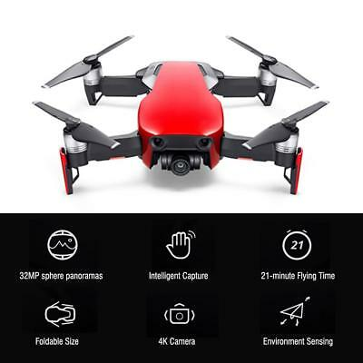 DJI Mavic Air - Flame Red Drone - 4K HD Camera Video 32MP Panoramas Quadcopter
