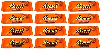 36 Hershey's Reeses Reese's Peanut Butter Cups Large (51g p.P.) 36 Cups