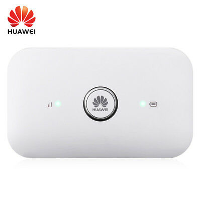 HUAWEI E5573s - 856 4G Mobile WiFi Router LTE Cat4 150Mbps Dual Antenna Port NEW