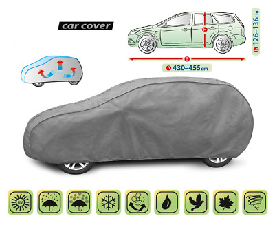 Car Cover Heavy Duty Waterproof Breathable HYUNDAI i30 / Ford Focus Mk2, Mk3 HTB
