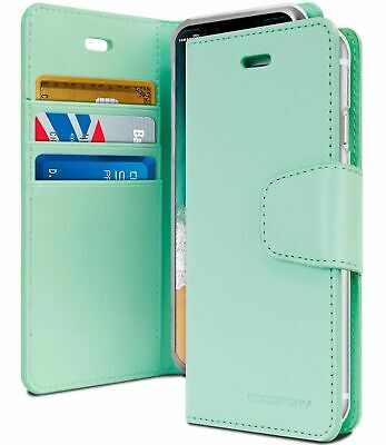 iPhone 6 6s Genuine MERCURY Goospery Mint Green Flip Case Wallet Cover FREE Post