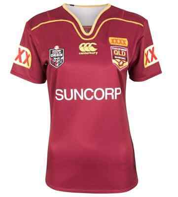 Queensland Maroons State of Origin 2017 Ladies On Field Jersey Sizes 8-20 BNWT