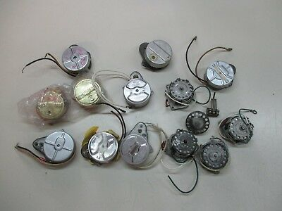 Lot of 13 Vintage ELECTRIC Clock Motors  for Parts W1501 WH142 W5153 E22587