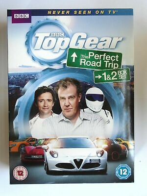 TOP GEAR: THE Perfect Road Trip 1 and 2 DVD Box Set NEW