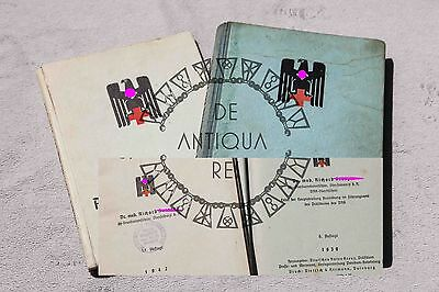 Militaria Tedesca Drk 2Wk 2Ww Red Cross Lot Of 2 Books + Documents Wehrmacht Xx