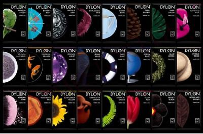 DYLON®  MACHINE DYE Clothes Fabric Dye Various Colours Unboxed & Flat Packed