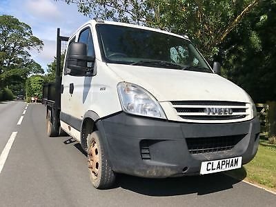 2008 Iveco Daily Dropside 3750 No Vat Spares Or Repair Starts 1St Time + Drives