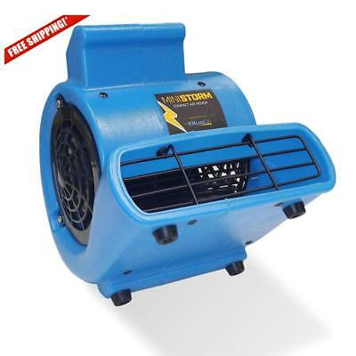 Soleaire Mini Storm 1/12 HP Mini Air Mover Carpet Dryer Floor Blower Fan Home US