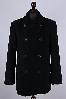 Barbour Vintage Wool Double Breasted Coat Size L / EU 40 / GER 48