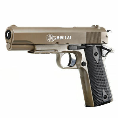 Cybergun Colt M1911 A1 HPA mit Metallschlitten Springer 6mm BB Softair Airsoft