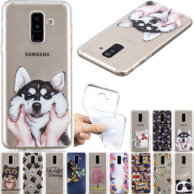 New Slim Clear Soft Silicone TPU Rubber Back Case Cover For Samsung Galaxy Phone
