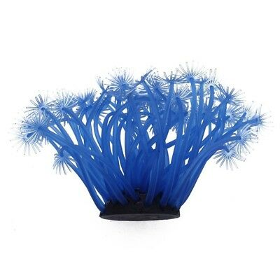 Pro Blue Artificial Fake Coral for Fish Tank Aquarium Decoration Ornament P Y6Z2
