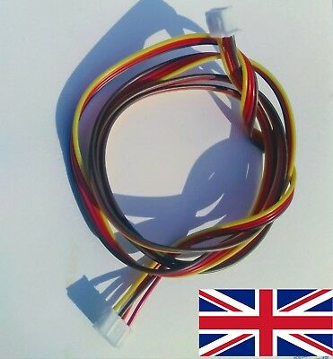 Nema 17 Stepper Motor Cable 1m long for Anet and others 4pin JST to 6 pin jst