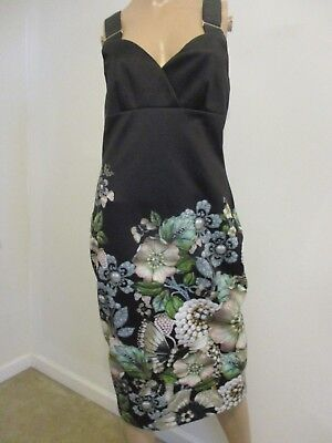 c3546a0c8cebb6 TED BAKER LONDON Jayer Gem Gardens Floral Print Bodycon Dress