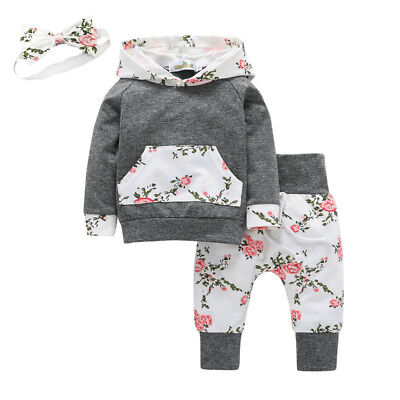 Baby Girls Clothes Suits Kids Child Girl Outfits Clothing Sets Dress + Pants