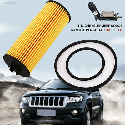 Oil Filter for Chrysler Jeep Dodge 68079744AB Auto Oil Filter Anti-Pollen  Dust