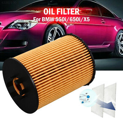 Oil Filter for BMW 550i/650i/X5 11427521008 Auto Oil Filter Replacement