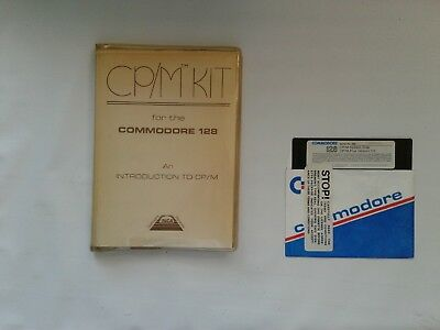 Commodore 128 CP/M Plus Version 3.0 System Disk and CP/M Kit