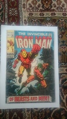 The Invincible Iron Man #16 1969 VG