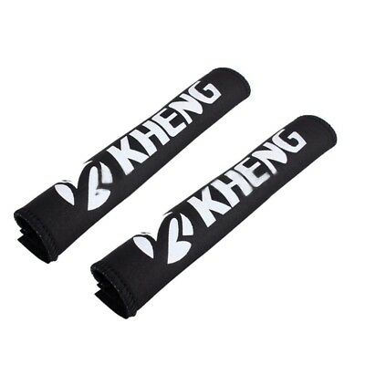 2x Bike chains Anti-theft Frame protection Chainstay protector Neoprene MTB Y3Y1