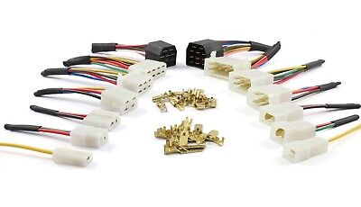 Cable / Wire Multi Plug Block Connectors 1 2 3 4 6 8 11 Way with crimp terminals
