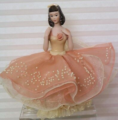 Sweet Settee- Marie Osmond  Collectables Porcelain Doll-Pincushion tags,COA