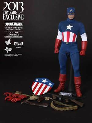 """Hot Toys - Captain America: The First Avenger - 12"""" 1/6 Scale Figure (MMS 205)"""