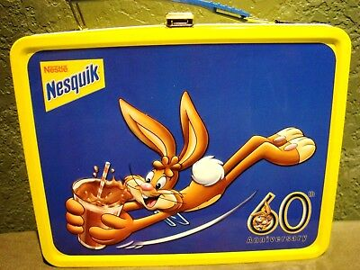 Nestle Nesquik Collector Lunchbox ~ 60th Anniversary ~ NEW