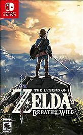 Legend of Zelda: Breath of the Wild (Nintendo Switch, 2017) GAME AND CASE NES HQ