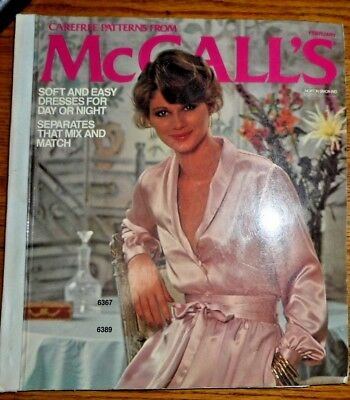 Vintage 1978 Carefree MCCALL'S Sewing Pattern COUNTER CATALOG BOOK~DESIGNER ETC