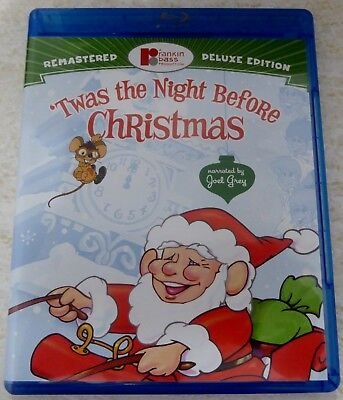 'twas The Night Before Christmas Blu-Ray / Dvd Set Deluxe Edition Like New!