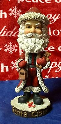 NECA Santas Around The World Head Knockers America's Santa Claus- Bobble Head