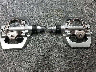 Authentic Shimano Pd-a530 Road MTB SPD Clipless Pedals Touring Bike NOS
