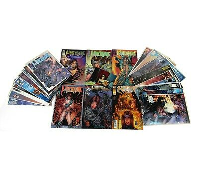 Witchblade Michael Turner Signed Comics Silvestri Wohl Smith Top Cow Lot of 25