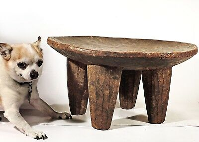 Large, African hand-carved Senufo stool or table, SEN206