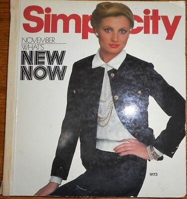 Vintage SIMPLICITY Sewing Pattern COUNTER CATALOG BOOK~WHAT'S NEW NOW~DRESSES ET