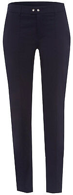 GOLFINO Damen Hose 34 Ziernähte Silver jewels techno 7/8 trousers Navy NP 159,59