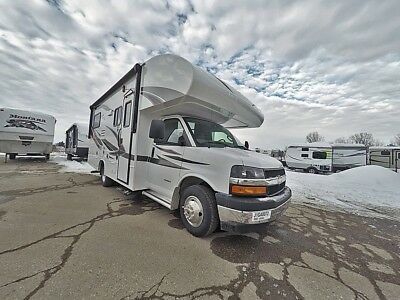 2018 Jayco Redhawk SE 22A Spacious Class C Gas Motorhome with slide Wholesale
