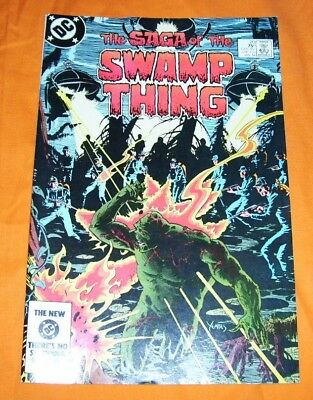 SAGA OF THE SWAMP THING #20 Alan Moore NM- 9.2