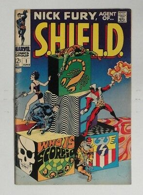 NICK FURY AGENT OF SHIELD #1 1968 Vol 1 FN+ or BETTER, STERANKO Story / Art