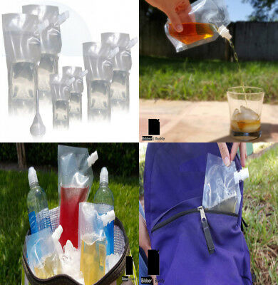 Bibber Buddy Plastic Concealable Flasks - The Ultimate Cruise Kit - Hidden...