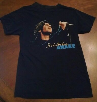 Josh Groban Awake world tour black shirt size S