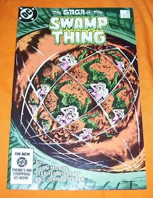 SAGA OF THE SWAMP THING #29 Alan Moore VF 8.0