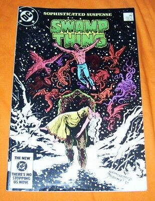 SAGA OF THE SWAMP THING #31 Alan Moore VF- 7.5