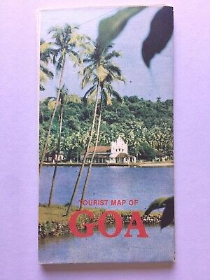 Vintage Official Goa Tourist Map and Guide