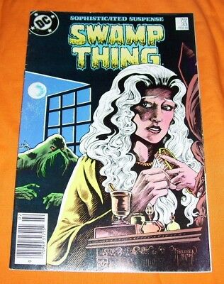 SWAMP THING #33 Alan Moore VG/FN 5.0