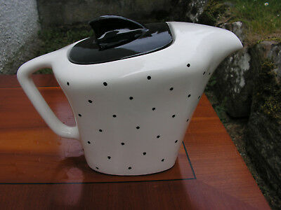 J and G Meakin Domino teapot - 1950's/60's . Really good condition .